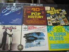 19 LP-s V.A. Oldies Pop Tanz Erotic Folk Oldies 50s 60s 70s | M- to EX