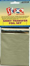 10 SHEETS TRANSFER FOILS VINTAGE TONE COLOURS OLIVE GREEN GOLD GREY CREAM BROWN