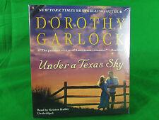 Under a Texas Sky by Dorothy Garlock (2013, CD)