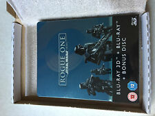 Rogue One Star Wars UK version Steelbook 3D Blu-ray