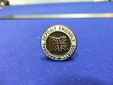 vtg badge national deposit friendly society healthcare savings scheme 1900s