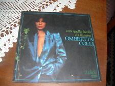 """OMBRETTA COLLI  """" CON QUELLA FACCIA DA ITALIANO """" ITALY'81"""