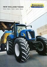 New Holland T8000 2011 catalogue brochure tracteur tractor tcheque czech