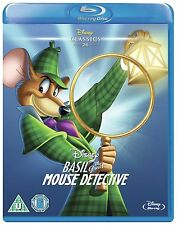Basil The Great Mouse Detective - UK Region B Blu Ray - Walt Disney