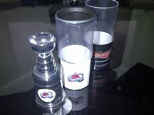 COLORADO AVALANCHE STANLEY CUP BUDWEISER PROMO W/ HIDDEN REMOVABLE USB 3.5x1.5