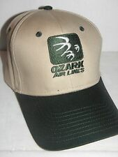OZARK AIRLINE BASEBALL CAP AIRPLANE PILOT NICE FATHERS DAY OR CHRISTMAS GIFT