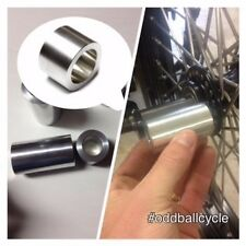 25MM Harley Axle Spacer, Custom Length to your specs, USA MADE, 6061 Aluminum