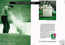 Publicité advertising 1991 (2 pages) Copieur Copia Olivetti