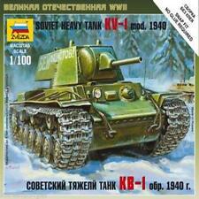 SOVIET HEAVY TANK KV-1 KV1 MOD. 1940 1/100 ZVEZDA 6141