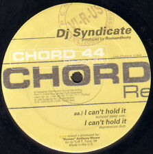 ROMANTHONY - I Can't Hold It - Feat Dj Syndicate - 1996 - CHORD 1-44 - Usa