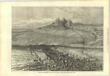 1873 Russian Expedition To Khiva First Sight Water After Crossing Desert
