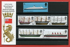 1969 Ships Presentation Pack German Edition