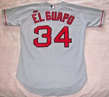 Rich Garces 'El Guapo' Boston Red Sox Diamond Authentic Gray Road Jersey 44 Rare