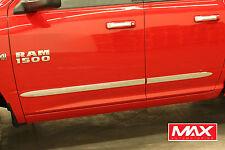BSDO601 - 02-08 Dodge Ram 1500 2500 Quad Cab Chrome Bodyside Molding Replacement