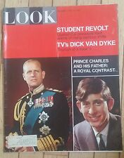 LOOK MAGAZINE APRIL 18 1967 STUDENT REVOLT DICK VAN DYKE PRINCE CHARLES ROYAL