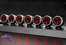 3x Link Meter BF DEFI STYLE GAUGE 60mm RED/WHITE Suits Universal Fit