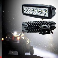 Car 18W Spot LED Work Light Bar Driving Fog Offroad SUV Boat Truck Lamp