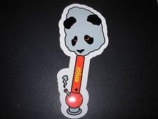 "ENJOI Skate Smoking Panda Sticker 2.25 X 5"" great for skateboards helmets decal"