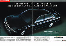 PUBLICITE   1990    TOYOTA   ACCORD  ( 2 pages)