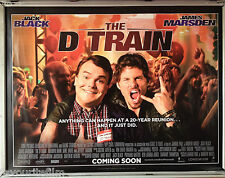 Cinema Poster: D TRAIN, THE 2015 (Quad) Jack Black James Marsden Kathryn Hahn
