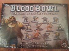 BLOOD BOWL DWARF GIANTS DWARF TEAM - NEW & SEALED
