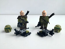 Lego Star Wars 2x Kashyyyk Scout Trooper - Set 75035 + Lego & Custom Equipment