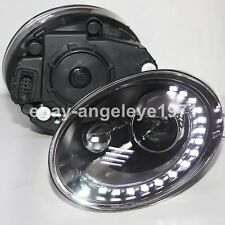 2011-2014 Year For VW Beetle LED Headlights Bi Xenon Projector Lens Lights LD