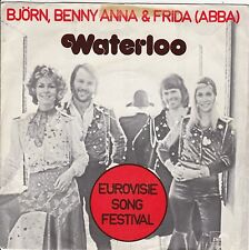 "ABBA ""Waterloo"" & ""Watch Out"" 1974 Holland Record (VG+) Picture Sleeve (VG+)"