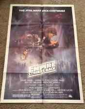 "Star Wars Episode V Original (27"" x 41"") One Sheet Style A Movie Poster"