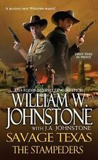 The Stampeders (Savage Texas), J. A. Johnstone, William W. Johnstone, Good Book