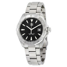Tag Heuer Aquaracer Black Dial Stainless Steel Mens Watch WAY1110.BA0928