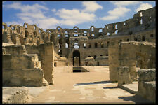 555009 The Roman Coliseum El Djem Tunisia A4 Photo Print