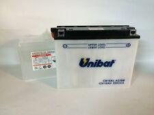 CB16AL-A2/SM  BATTERIA MOTO UNIBAT 16 AH 200 A (EN) - COD. YUASA YB16AL-A2