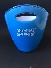 BOMBAY SAPPHIRE Gin Flaschen Kühler Ice Bucket Deko Bar Eiswürfelbehälter