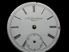 NEW YORK STANDARD 5TH MODEL POCKET WATCH MOVEMENT NEEDS CLEANING