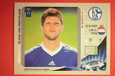 PANINI CHAMPIONS LEAGUE 2012/13 N. 118 HUNTELAAR SCHALKE 04 BLACK BACK MINT!