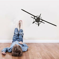 Art Airplane Home Decor Wall Decal   Aeroplane Removable  Vinyl Wall Sticker