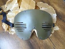 WWII FLAK GOGGLES AS ISSUED IN WAX PAPER for PILOT COCKPIT & FLIGHT CREW