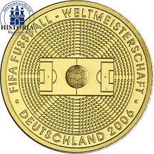 Deutschland 100 Euro Gold 2005 stgl. FIFA Fussball WM 2006 Mzz. D 1/2 Unze