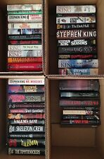 Lot 40 Stephen King Hardcover Books_Carrie, Doctor Sleep, Misery, Cell, Salem's