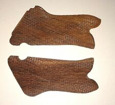GERMAN P08 P-08 LUGER WOODEN PISTOL GRIPS REPLACEMENTS-PAIR