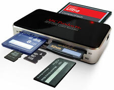 Tutto in uno USB 2.0 MULTI MEMORY CARD READER Reads Compact Flash SDHC XC XD MSPRO