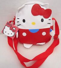 HELLO KITTY Sanrio White & Red Purse Bag