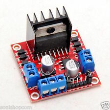 Dual H Bridge DC Stepper Motor Drive Controller Board Module L298N for Arduino