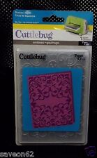 Provo Craft Skeleton Scroll  # 37-1904 Cuttlebug Halloween Embossing Folder