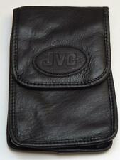 JVC Original Genuine Soft Black Leather Digital Camcorder Case CB-V753U