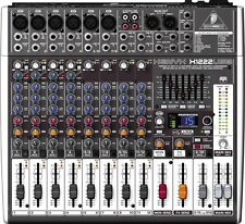 Behringer Xenyx X1222USB 16-Input 2-Bus USB Mixer w/ Effects & Mic Preamps