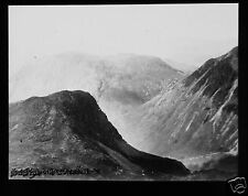 Glass Magic Lantern Slide LOOKING NORTH FROM SCAWFELL C1920 CUMBRIA PHOTO