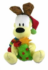 """Cuddle Barn Plush Christmas Odie Plays """"Santa Claus is Coming to Town"""" ZCB2923"""