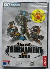 UNREAL TOURNAMENT 2003 PERSONAL COMPUTER  PC ITA  ESP POR